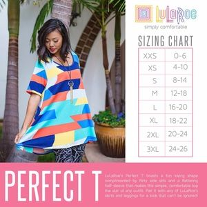 LuLaRoe Tops - New with tags  Lularoe Perfect Tee 3XL